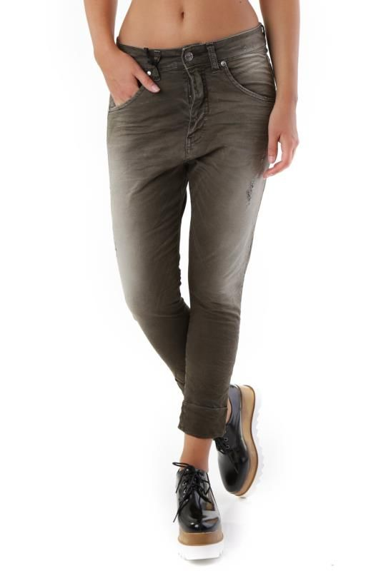Pantaloni Donna Sexy Woman (VI-J2911) colore Verde Scuro