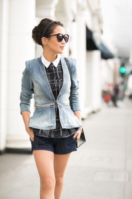 Layers of Blue :: Denim jacket