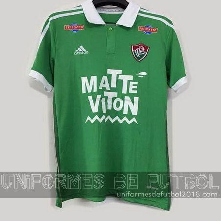 Jersey tercera para uniforme del Tailandia Fluminense 2016   uniformes de futbol economicos
