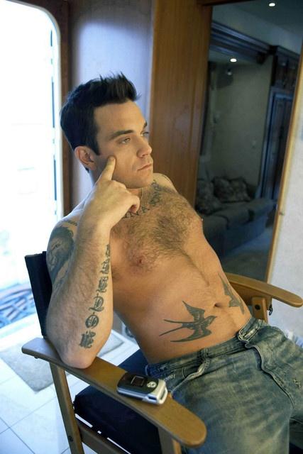 Robbie Williams - The birdies!