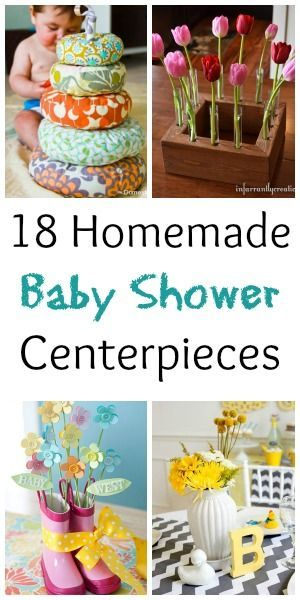 Baby Shower Favors You Make Yourself ~ Baby shower centerpieces you can make yourself crafts