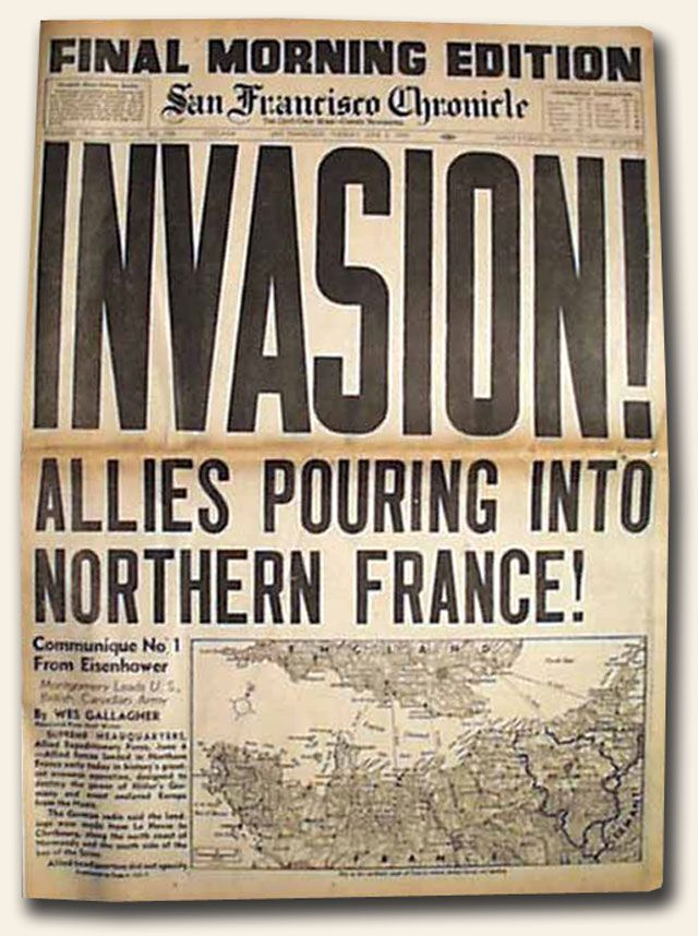 d day invasion anniversary