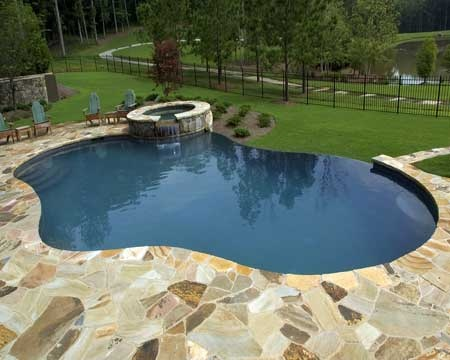 8 best images about free form swimming pools on pinterest - Infinity edge swimming pool ...