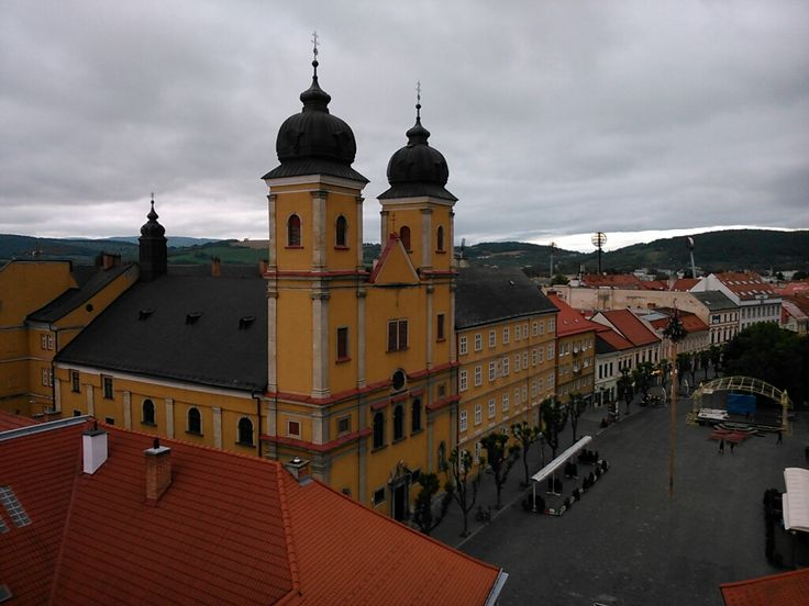 Church of St. Francis Xavier, Trenčín, Slovakia