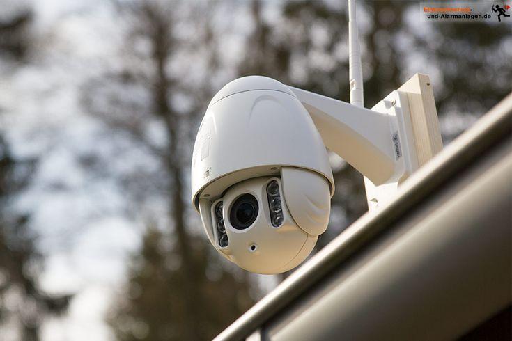 Wanscam HW0045 im Test. Eine preisgünstige schwenkbare #Überwachungskamera mit Zoom für den Außenbereich. Was leistet die Full HD WLAN Kamera aus China? #ip-Kamera #Praxistest