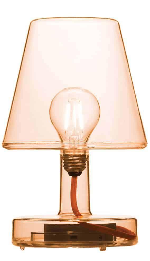 lampe poser rvlant lampoule led grce au faonnage du polythylne sans fil