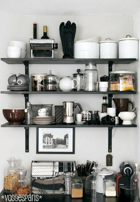 Vosgesparis: Behind The Scenes With IKEA Family Live · Open Kitchen  ShelvingKitchen ...