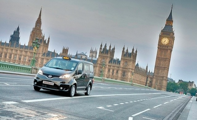 Nissan unveils new London Taxi