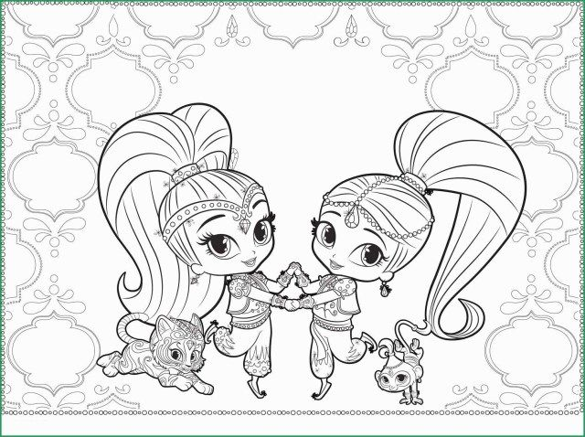 - 21+ Marvelous Picture Of Shimmer And Shine Coloring Pages - Birijus.com  Nick Jr Coloring Pages, Pokemon Coloring Pages, Coloring Pages