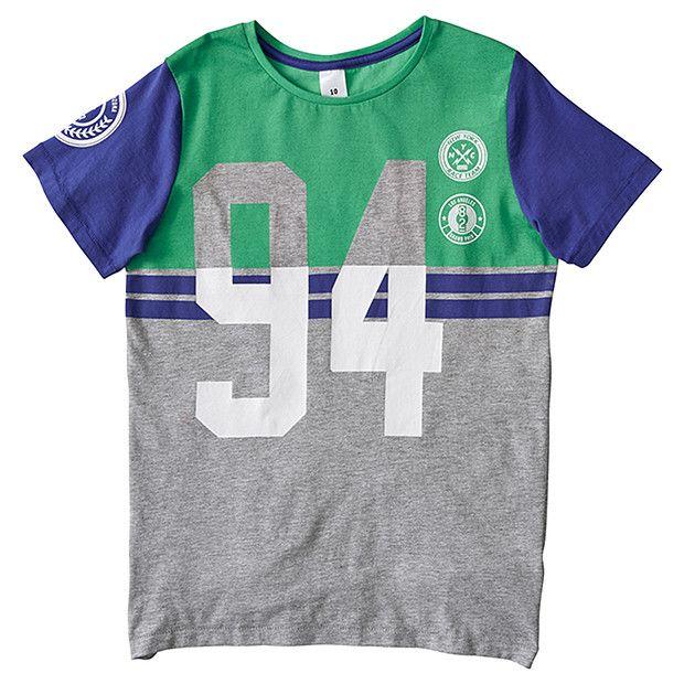 Boys' Short Sleeve Sport Fashion T-Shirt