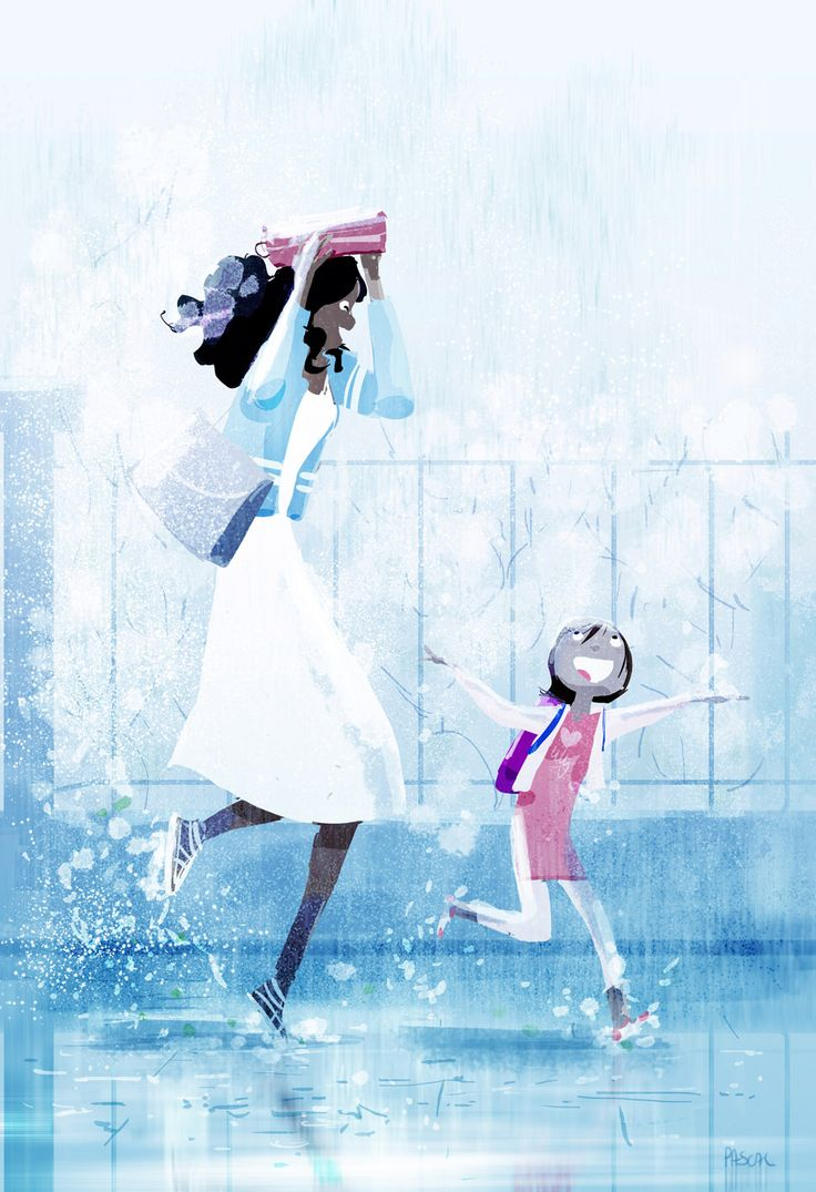 Just a little bit of rain! by PascalCampion.deviantart.com on @deviantART