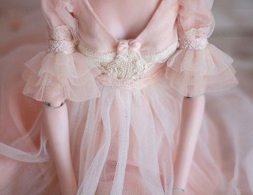 Peach blossom   Dress for CharmedKingdom doll by TaniaCh   Zellstudio   Flickr