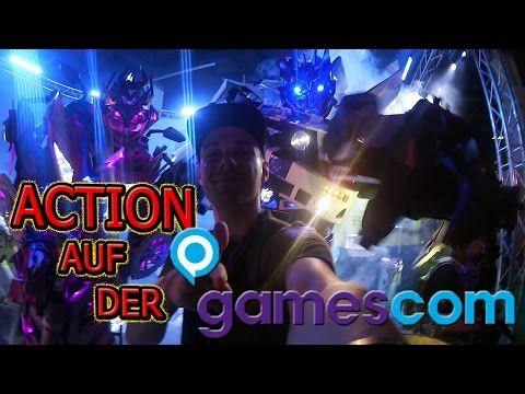 Auf der GAMESCOM ist die HÖLLE los | ChrisCross - YouTube