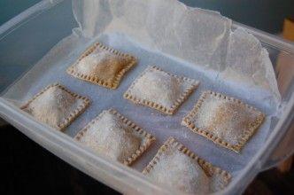 Recipe: Butternut Squash Ravioli http://www.100daysofrealfood.com