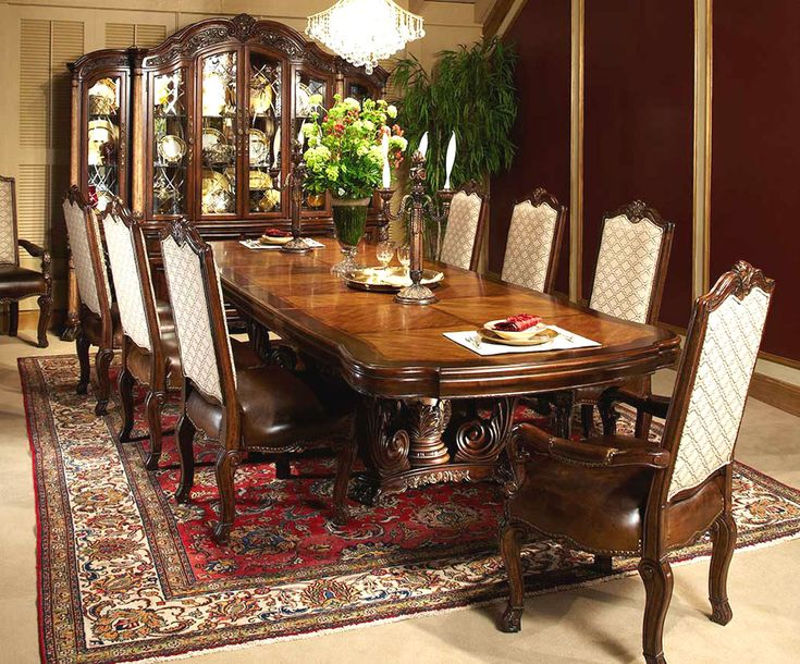 Victoria Palace Dining Room Set By AICO, New Gorgeous Dining Room  Collection From Michael Amini, Aico Dining Room Furniture