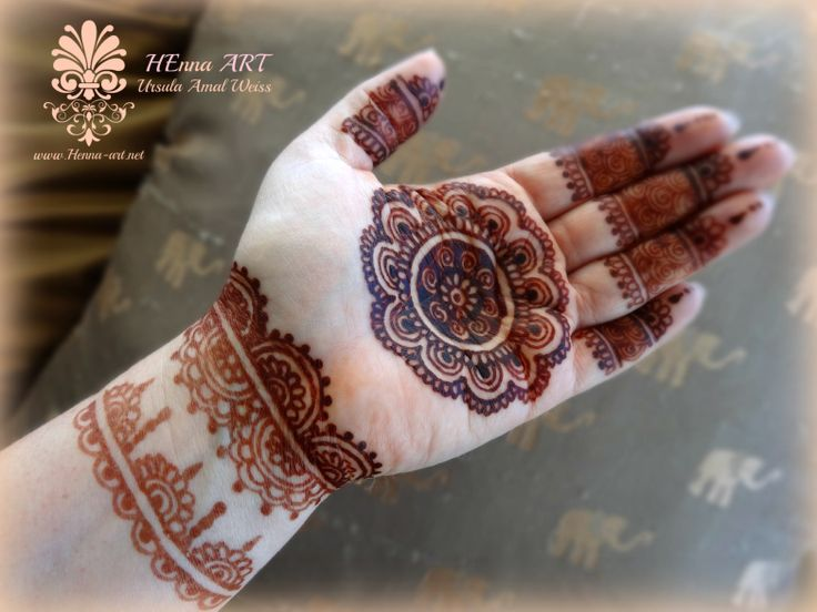 Henna Tattoo Kaufen Basel: Chakra Style - Beautiful Henna Stain