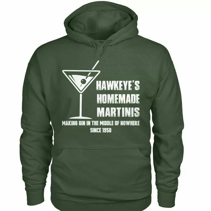 Hawkeye's homemade martini