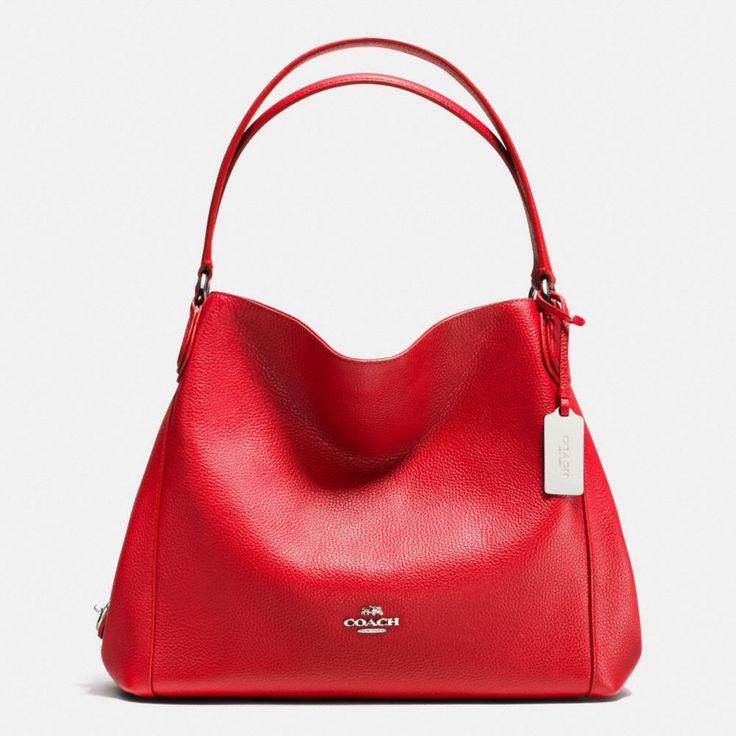 Edie Shoulder Bag 31 in Refined Pebble Leather