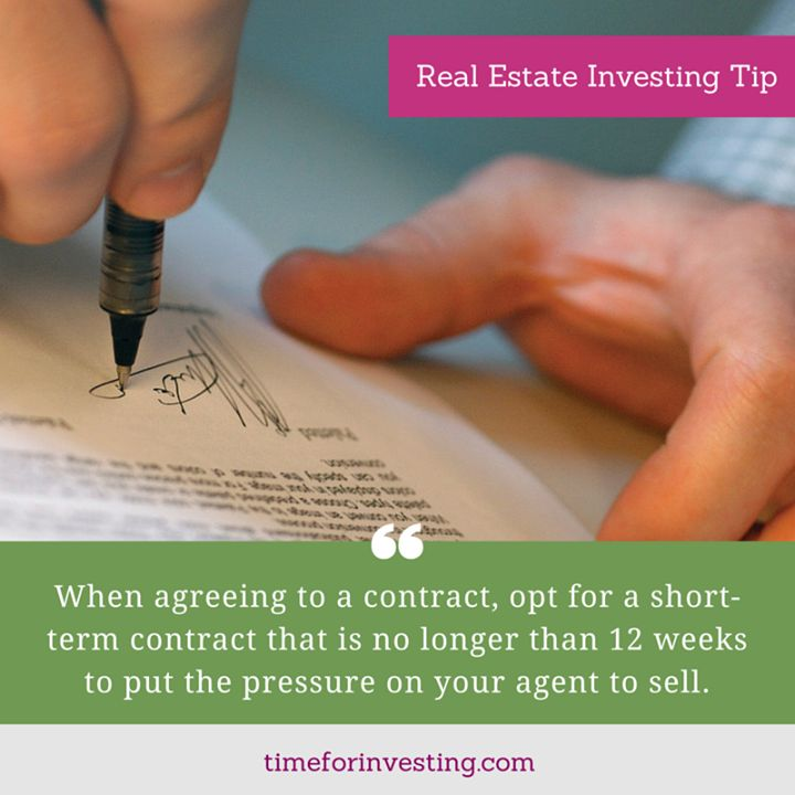 how to break a real estate agent contract
