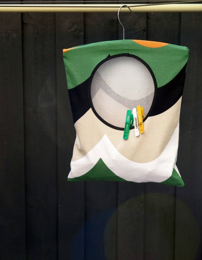 DIY Super Easy Peg Bag