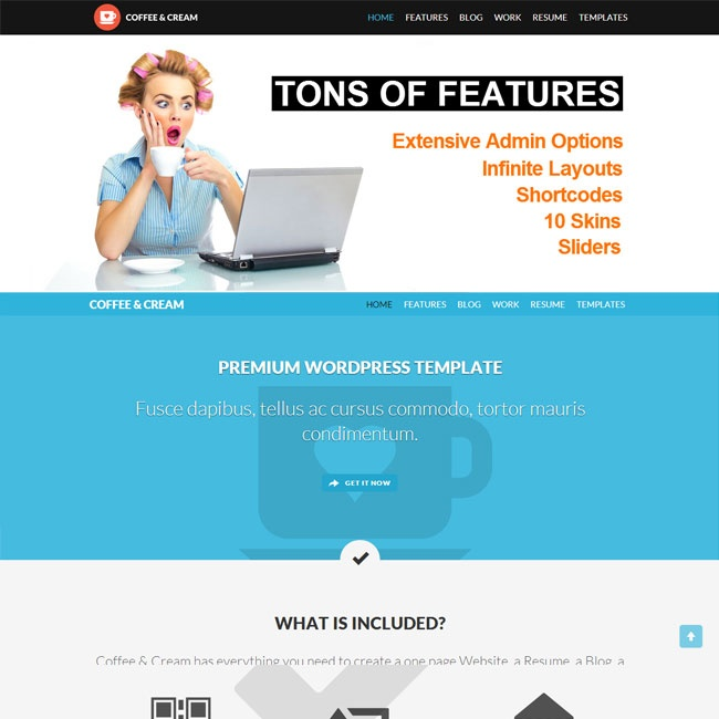 231 best Best Creative WordPress Themes images on Pinterest - wordpress resume template