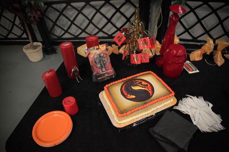 Mortal Kombat Birthday Party Mortal Kombat Birthday