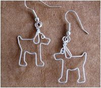 Whimsical Animal Wire Work Jewelry by Chatnoir77