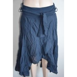 Piazza Italia dlouhá sukně modrá M
