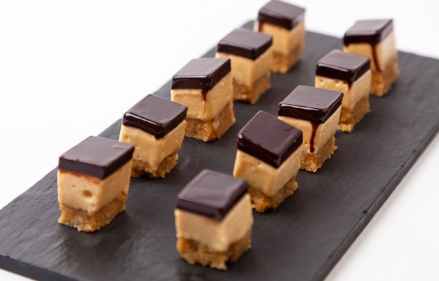 Adam Gray shares a delicious millionaires mousse recipe, perfect to serve as a petit four throughout the festive season and beyond