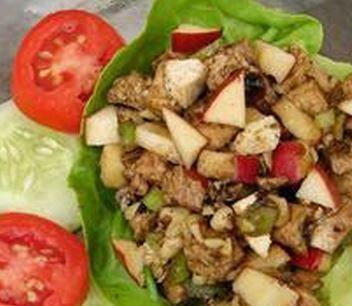 Salada de Frango com Vinagre Balsâmico