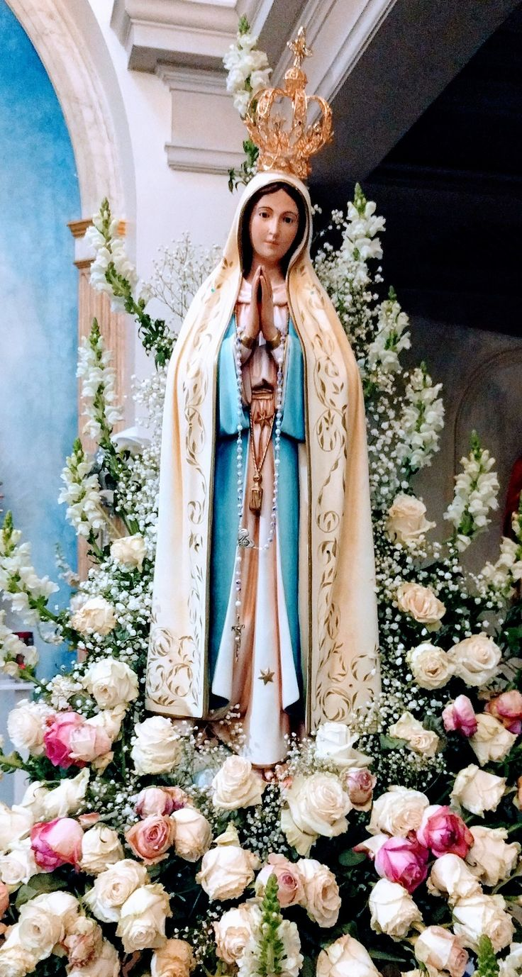 Our lady of fatima in the church of the scalabrini fathers