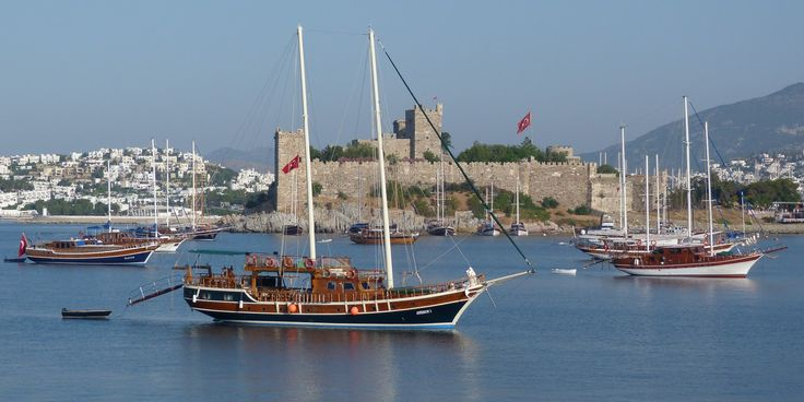 Turkey Bodrum gulets
