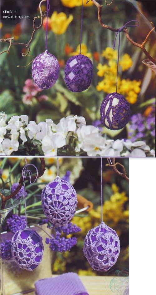 SCHEMATY Szydełkowe jajka - schematy