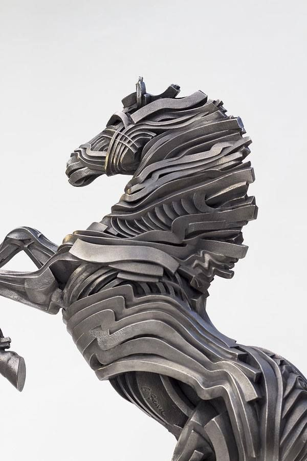 Sculpture by Gil Bruvel