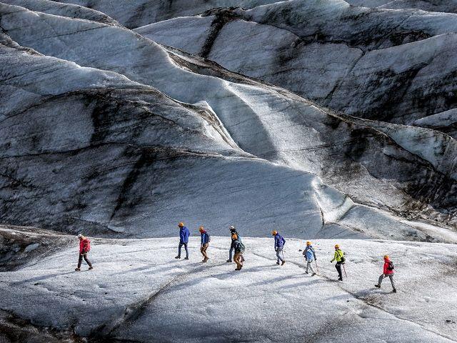 Svinafellsjokull glacier, Arctic Images Corbis