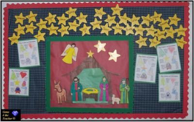 nativityChristmas Time, Christmas Crafts, Schools, Church Bulletin, Native Scene, December Bulletin Boards, December 2008, Boards Ideas, Bible Bulletin
