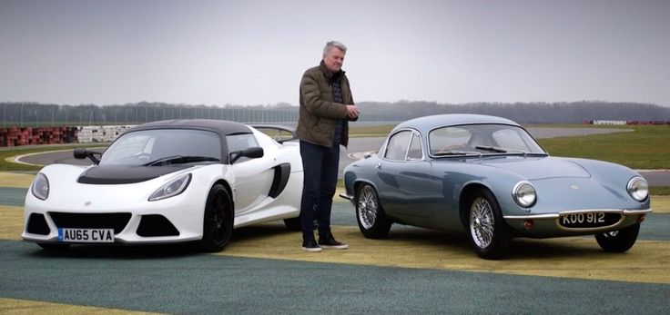 A 1957 Lotus Elite and a 2016 Exige Sport 350 Share the Same Goal  - RoadandTrack.com