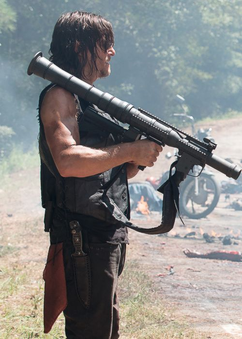Daryl Dixon in The Walking Dead Season 6 Episode 9 | No Way Out