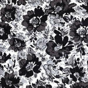 Dear Stella House Designer - Tuxedo - Vintage Floral in Black
