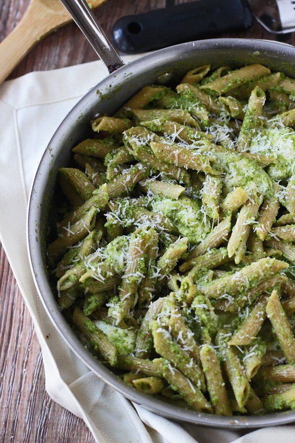 Pin for Later: Break Out of Your Steamed Broccoli Rut With These 25+ Recipes Baked Penne With Broccoli Pesto Get the recipe: baked penne with broccoli pesto