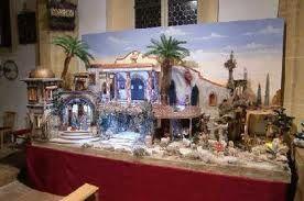 Weihnachtskrippe in der Pfarrkirche Bad Vigaun
