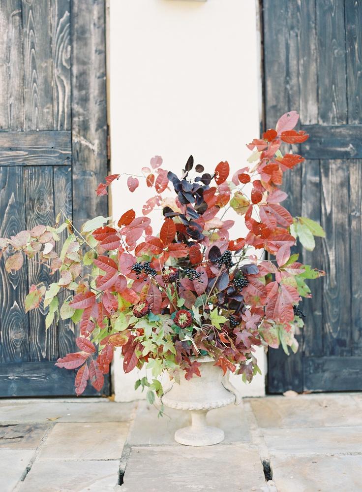 fall foliage via once wed