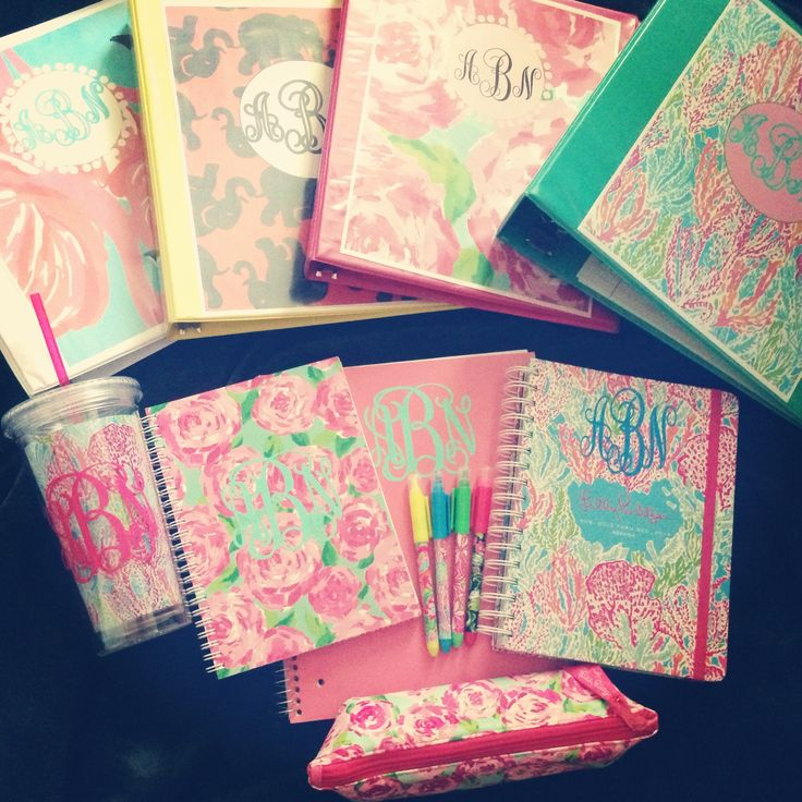 Lilly Pulitzer and Monograms                                                                                                                                                     More