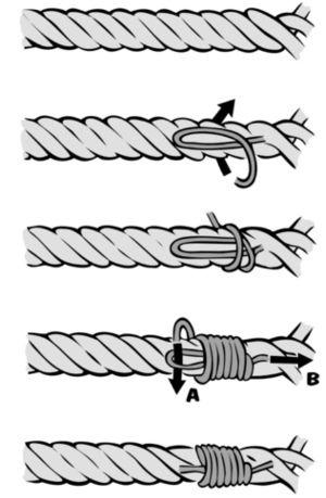 Knotenkunde für Segler: Der Takling