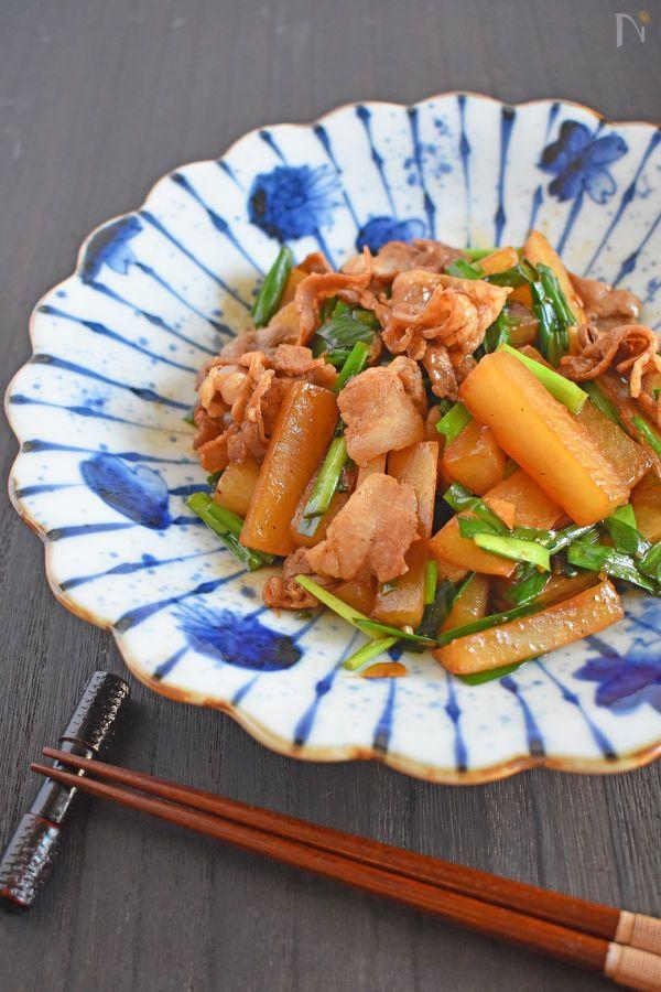 中華風のしっかりめの味付けで、ごはんがすすむ一品です。