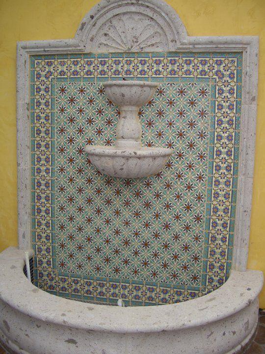 Tierra Y Fuego Santa Barbara Series Tile With Cement Wall