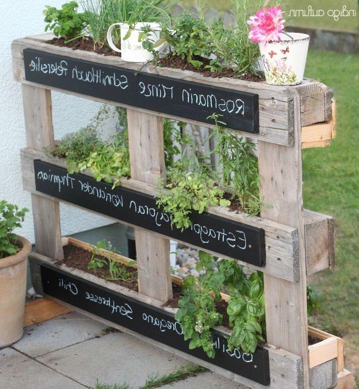22 Einzigartig Garten Deko Ideen Landhaus Selber Machen Garten Gartenteiler Paletten Garten