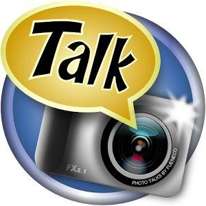 Photo talks..app para poner los tipicos bocadillos de texto en las fotos que tu prefieras y montar tus propias fotos personalizadas