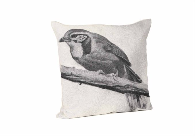Whitter Bird Cushion - Rugs and cushions - Living Room Storage | Bookcases | Furniture Village #ScandiStyle