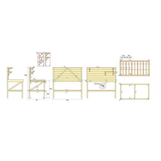 Bygg Ett Planteringsbord G 246 R Det Sj 228 Lv Byggmax